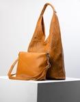 Εικόνα από Γυναικεία τσάντα χειρός με εσωτερικό τσαντάκι Ταμπά