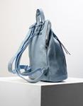 Εικόνα από Γυναικεία σακίδια πλάτης μονόχρωμα Σιέλ