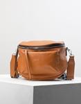 Εικόνα από Γυναικεία τσάντα ώμου & χιαστί με εξωτερικό τσεπάκι Ταμπά