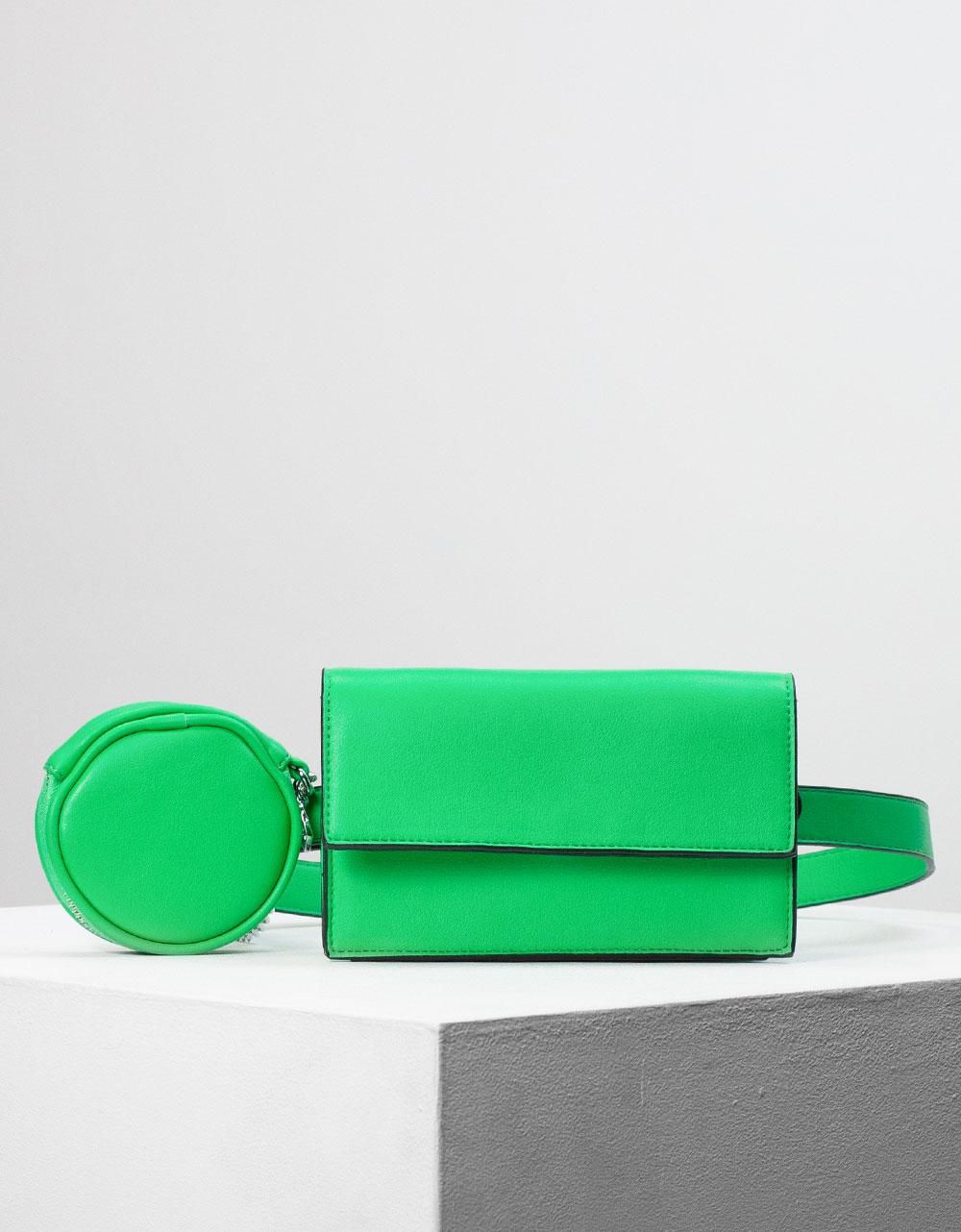 Εικόνα από Γυναικείο crossbody τσαντάκι Πράσινο