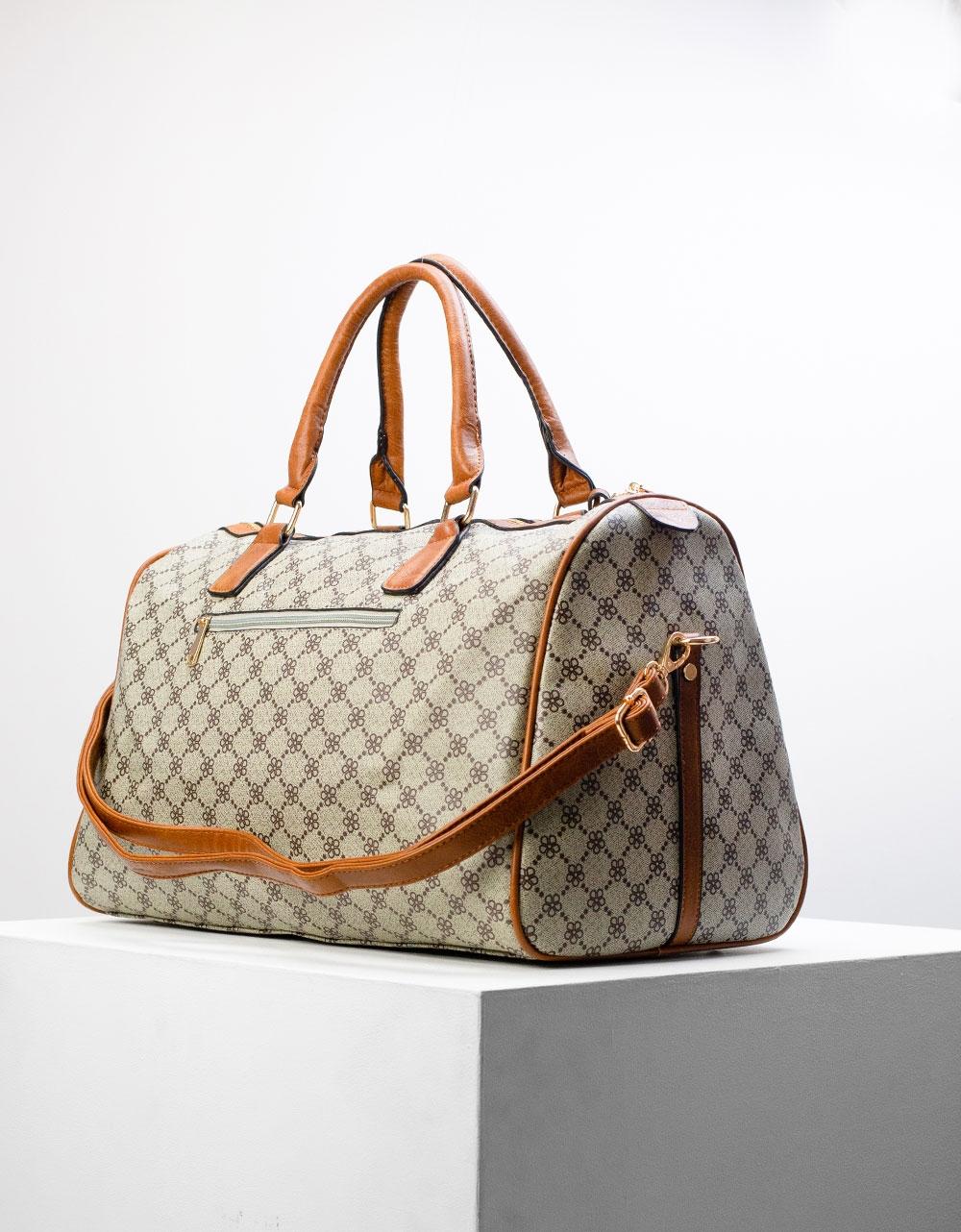Εικόνα από Γυναικεία τσάντα ταξιδίου Μπεζ