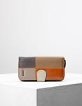 Εικόνα από Γυναικεία πορτοφόλια δερμάτινα σε συνδυασμό χρωμάτων Multi