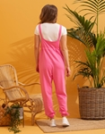 Εικόνα από Γυναικεία ολόσωμη φόρμα αμάνικη Ροζ
