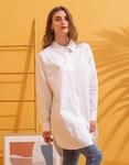 Εικόνα από Γυναικείο πουκάμισο oversized Λευκό