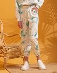 Εικόνα από  Γυναικεία σετ ρούχων παντελόνι & μπλουζάκι tie dye Βεραμάν