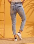Εικόνα από Γυναικείo παντελόνι με σκισίματα και φθορές Τζιν