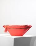 Εικόνα από Γυναικεία τσάντα μέσης με φερμουάρ Πορτοκαλί