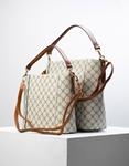 Εικόνα από Γυναικεία τσάντα ώμου & χιαστί με εσωτερικό τσαντάκι Μπεζ