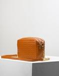 Εικόνα από Γυναικεία τσάντα ώμου & χιαστί με ανάγλυφο σχέδιο Ταμπά