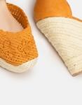 Εικόνα από Γυναικείες πλατφόρμες εσπαντρίγιες με πλεκτό σχέδιο Ταμπά