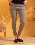 Εικόνα από Γυναικείο παντελόνι ριγέ Μαύρο