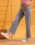 Εικόνα από Γυναικείο wide leg παντελόνι Τζιν