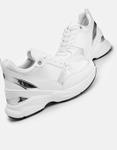 Εικόνα από Γυναικεία sneakers με μεταλλική λεπτομέρεια Λευκό