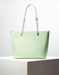 Εικόνα από Γυναικεία τσάντα ώμου με λουράκι χιαστί Πράσινο