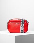 Εικόνα από Γυναικεία τσάντα ώμου & χιαστί με εξωτερική θήκη Κόκκινο