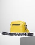 Εικόνα από Γυναικεία τσάντα ώμου & χιαστί με εξωτερική θήκη Κίτρινο