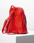 Εικόνα από Γυναικεία σακίδια πλάτης basic με δύο θήκες Κόκκινο
