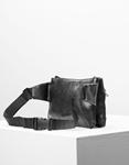 Εικόνα από Γυναικείο crossbody τσαντάκι με ανάφλυφο σχέδιο Μαύρο