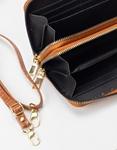 Εικόνα από Γυναικεία πορτοφόλια με κροκό σχέδιο Ταμπά
