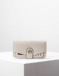Εικόνα από Γυναικεία πορτοφόλια με καπάκι Γκρι