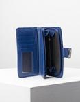 Εικόνα από Γυναικεία πορτοφόλια με καπάκι Μπλε