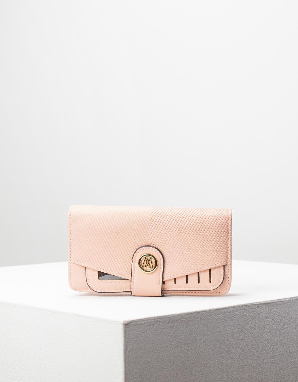 Εικόνα από Γυναικεία πορτοφόλια με καπάκι Ροζ