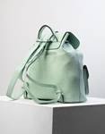 Εικόνα από Γυναικεία σακίδια πλάτης πουγκί με εξωτερικές θήκες Πράσινο