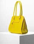 Εικόνα από Γυναικείες τσάντες ώμου με εξωτερική θήκη Κίτρινο