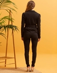 Εικόνα από  Γυναικεία σετ ρούχων παντελόνι & σακάκι Μαύρο