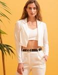 Εικόνα από  Γυναικεία σετ ρούχων total look Λευκό