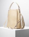 Εικόνα από Γυναικεία τσάντα ώμου & χιαστί με πορτοφόλι Μπεζ