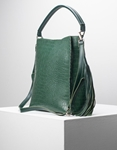 Εικόνα από Γυναικεία τσάντα ώμου & χιαστί με πορτοφόλι Πράσινο