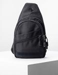 Εικόνα από Ανδρικές τσάντες ώμου με εξωτερικά τσεπάκια Μαύρο
