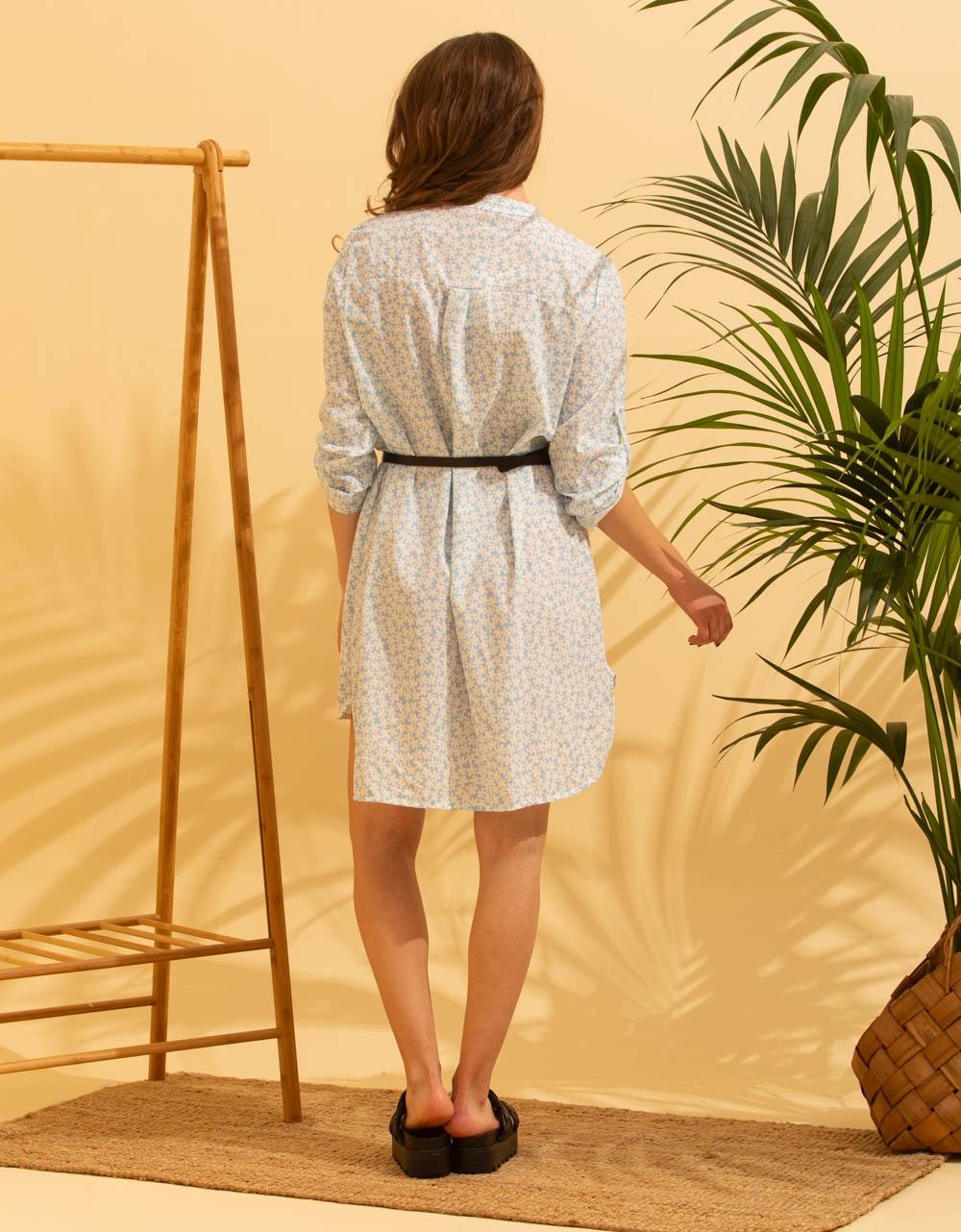 Εικόνα από Γυναικείο φορέμα μίνι με σχέδιο Σιέλ