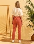 Εικόνα από Γυναικεία ολόσωμη φόρμα σε συνδυασμό χρωμάτων Σομόν