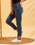 Εικόνα από Γυναικείo παντελόνι με φθορές Τζιν