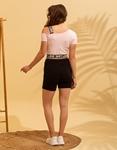 Εικόνα από Γυναικείο t-shirt με έναν ώμο Ροζ