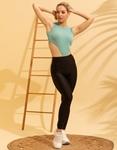 Εικόνα από Γυναικείο κορμάκι με ψηλό άνοιγμα Πράσινο