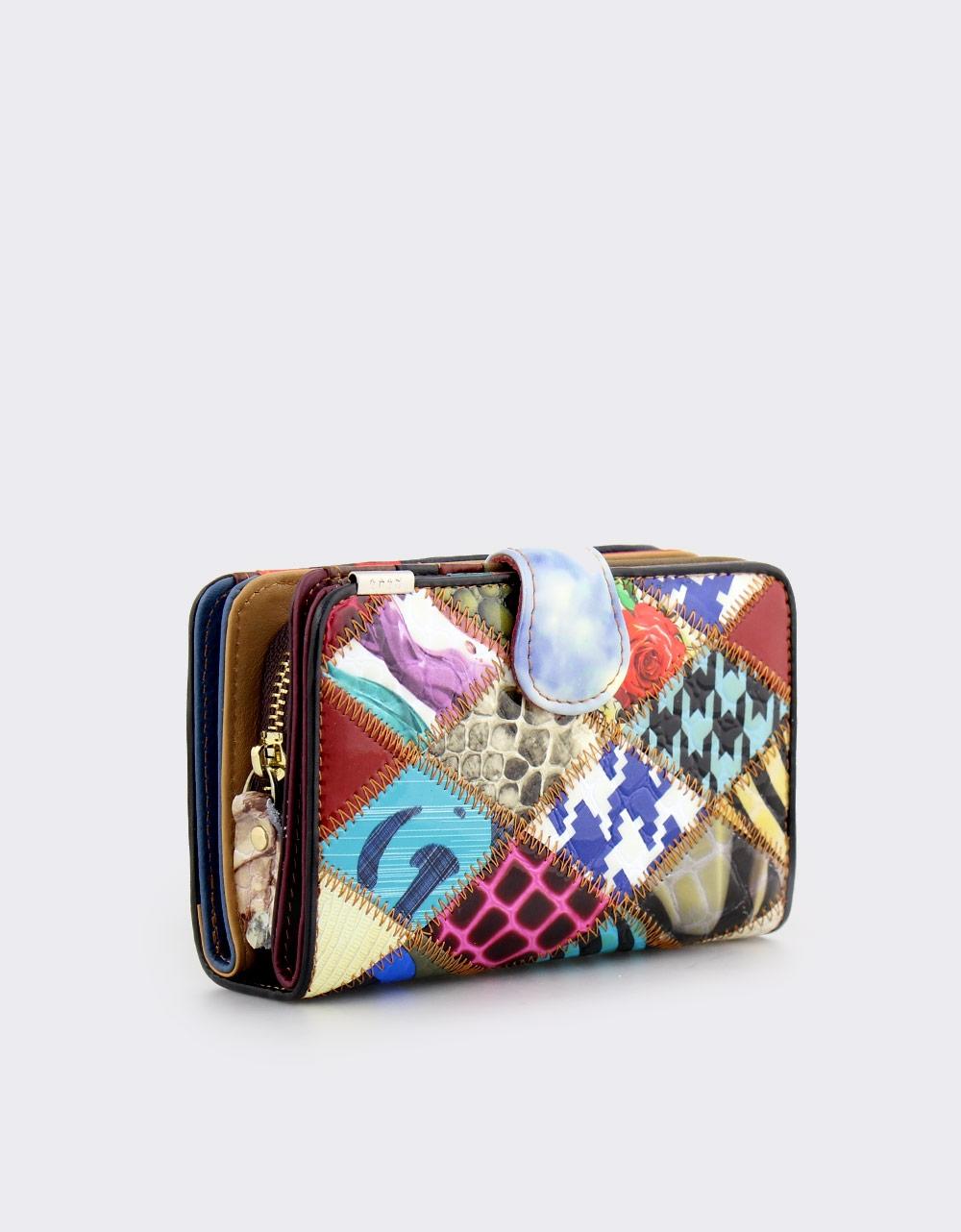 Εικόνα από Γυναικεία δερμάτινα πορτοφόλια multi colour Multi
