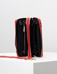 Εικόνα από Γυναικείο πορτοφόλι basic μονόχρωμο Κόκκινο