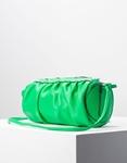 Εικόνα από Γυναικεία τσάντα ώμου & χιαστί βαρελάκι Πράσινο