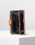 Εικόνα από Γυναικεία πορτοφόλια δερμάτινα με σχέδιο Πορτοκαλί