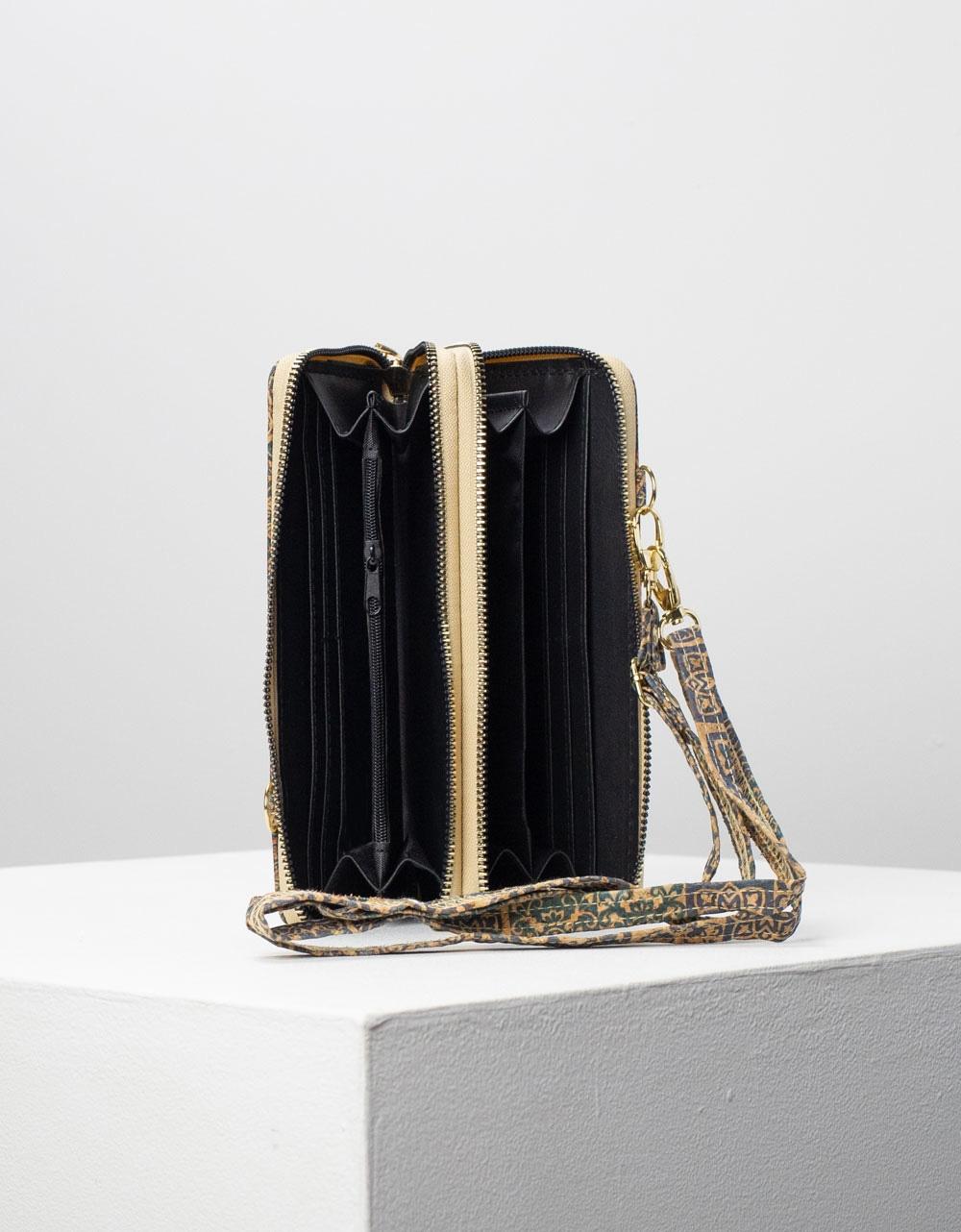Εικόνα από Γυναικεία πορτοφόλια σε συνδιασμούς χρωμάτων Μπλε