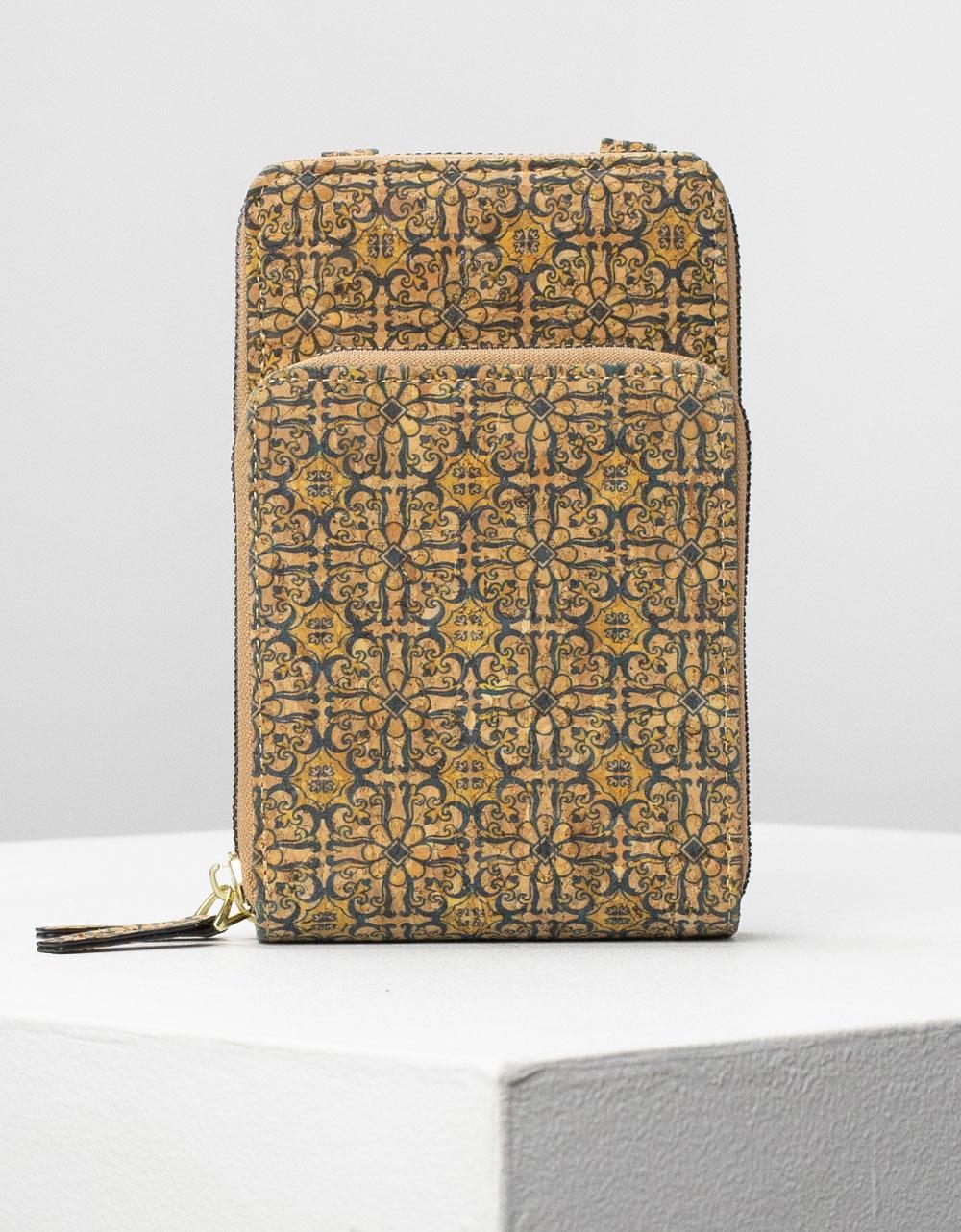 Εικόνα από Γυναικεία πορτοφόλια με σχέδια Κίτρινο