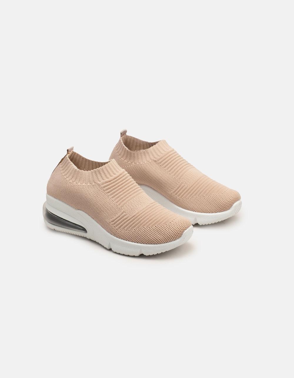 Εικόνα από Γυναικεία sneakers ελαστικά Ροζ