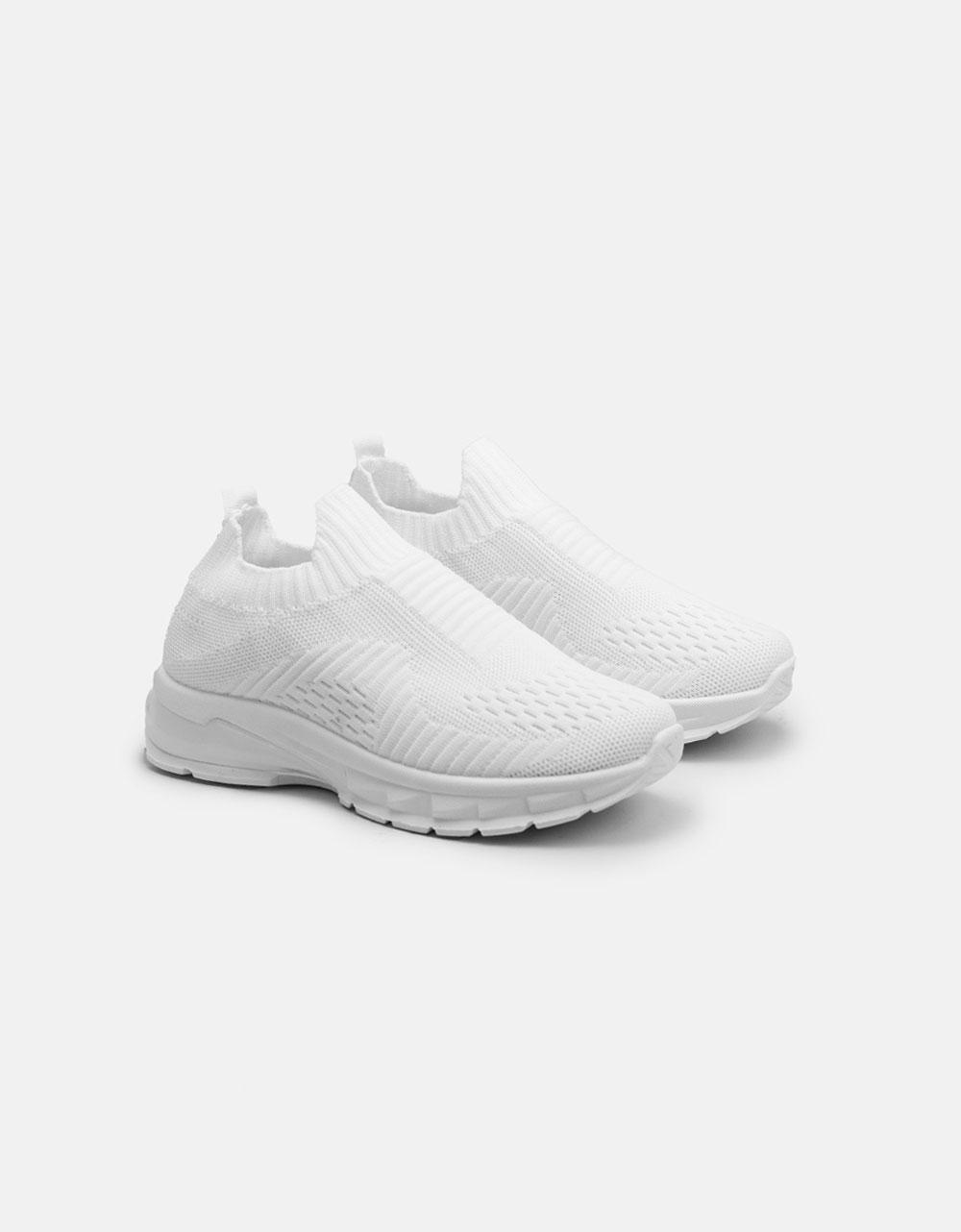 Εικόνα από Γυναικεία sneaker slip on Λευκό