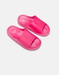 Εικόνα από Γυναικεία slides με φαρδιά φάσα Φούξια