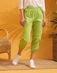 Εικόνα από Γυναικείο παντελόνι με αλυσίδα Πράσινο