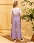 Εικόνα από Γυναικείο παντελόνι με τιράντες Μωβ
