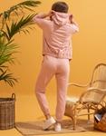 Εικόνα από Γυναικεία σετ ρούχων παντελόνι & μπλουζάκι Ροζ
